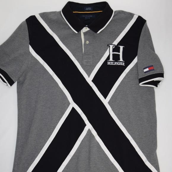 d0d05f11 Tommy Hilfiger Shirts | Vintage 90s Tommy Flag Polo Shirt | Poshmark